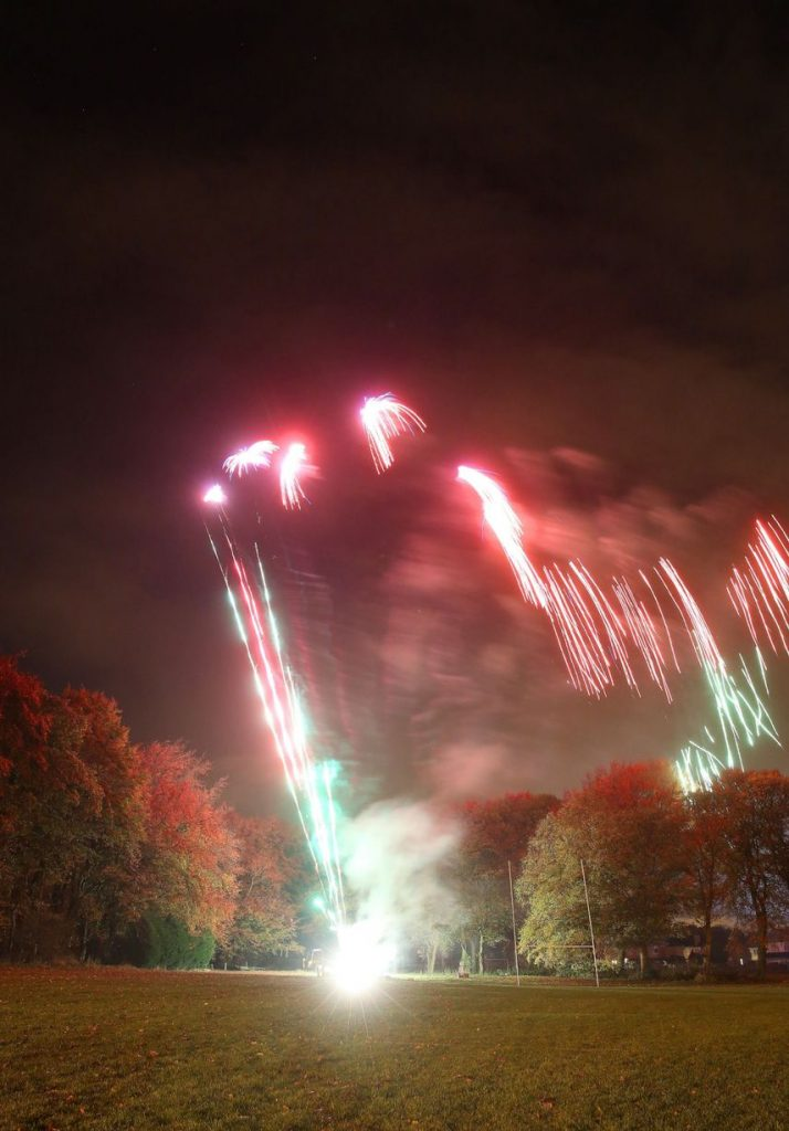 Huddersfield YMCA Bonfire Night Fireworks