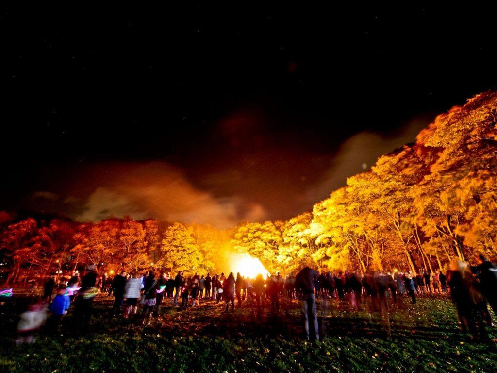 Huddersfield YMCA Bonfire Night Fireworks 2015 (4)
