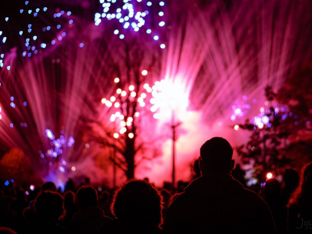 Ellesmere Port Lions Club - Annual Fireworks Spectacular, Whitby Park 2017