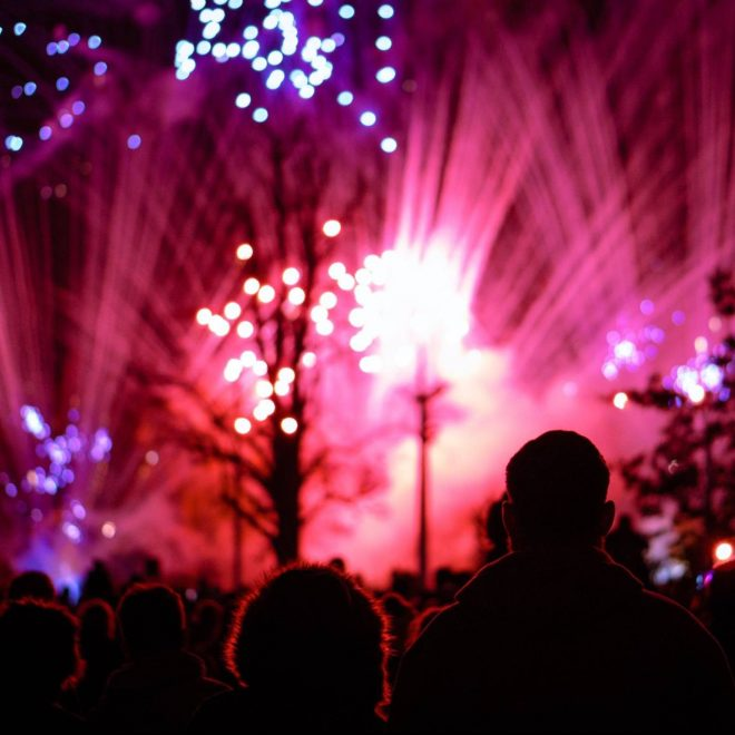 Ellesmere Port Lions Club - Annual Fireworks Spectacular, Whitby Park 2017