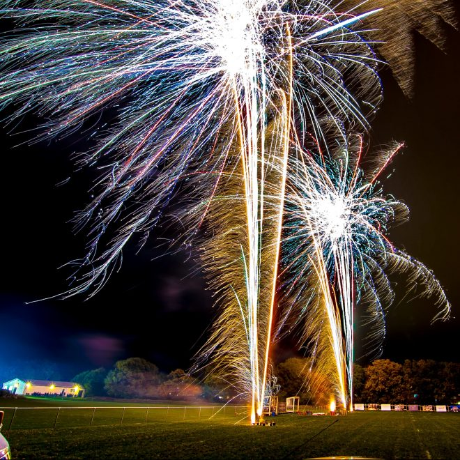 Professional Fireworks Display at Far Moss Sports Ground, Leeds, November 2018 (17)