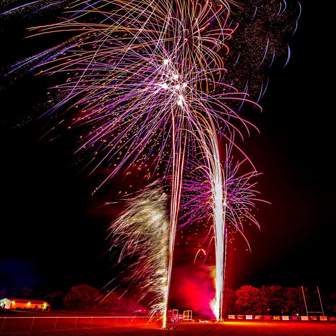 Professional Fireworks Display at Far Moss Sports Ground, Leeds, November 2018 (8)