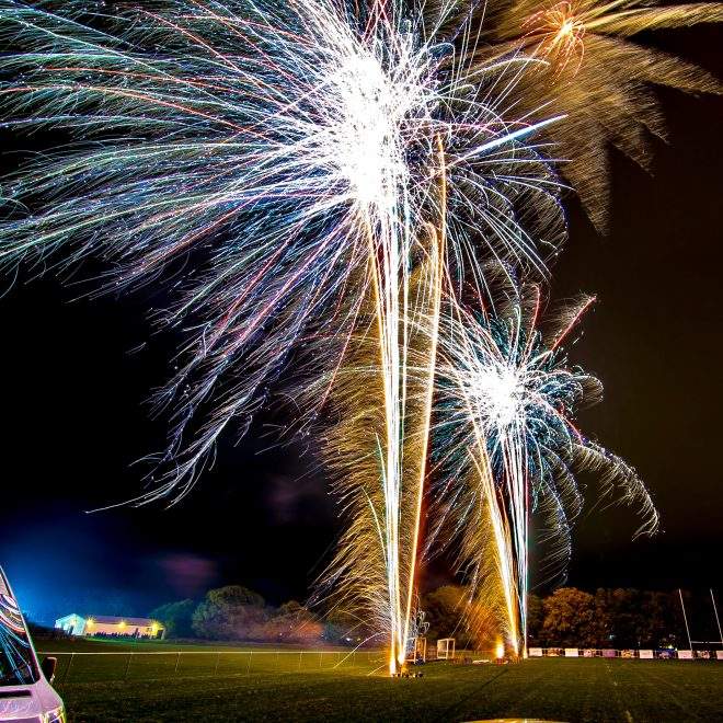 Professional Fireworks Display at Far Moss Sports Ground, Leeds, November 2018 (9)