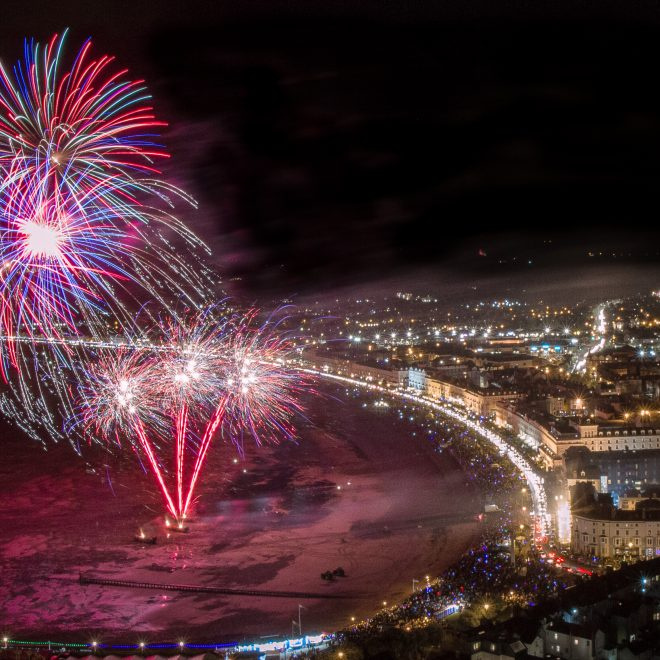 Llandudno Town Council Fireworks Display, October 2018 (Photo © Terry Westwood)