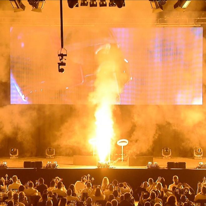 Stage Pyrotechnics - An Experience With Sylvester Stallone Birmingham, July 2018