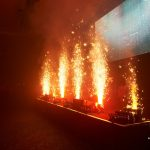 Stage Pyrotechnics For An Experience With Sylvester Stallone 2018, InterContinental London - The O2 (4) (Photo © AEW Global Group Limited)